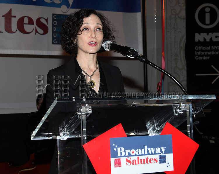 Bebe Neuwirth.attending the Broadway League and Coalition of Broadway Unions and Guilds Presentation of The 3rd Annual Broadway Salutes in New York City.