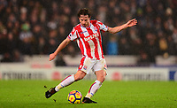Joe Allen of Stoke in action during the EPL - Premier League match between Stoke City and Newcastle United at the Britannia Stadium, Stoke-on-Trent, England on 1 January 2018. Photo by Bradley Collyer / PRiME Media Images.