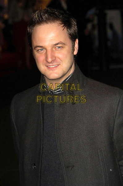 "MIKEY GRAHAM - BOYZONE.UK Premiere of ""The Bucket List"" held at the Vue cinema, Leicester Square, London, England..January 23rd, 2008    .headshot portrait .CAP/CAS.©Bob Cass/Capital Pictures."