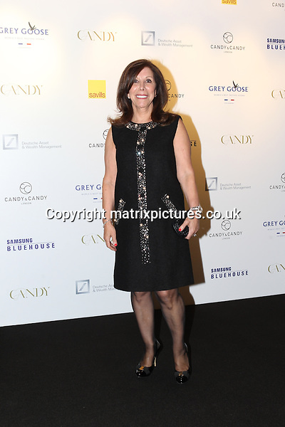 NON EXCLUSIVE PICTURE: TREVOR ADAMS / MATRIXPICTURES.CO.UK<br /> PLEASE CREDIT ALL USES<br /> <br /> WORLD RIGHTS<br /> <br /> Patricia Candy, the mother of British luxury property developer, Nick Candy attending the CANDY Magazine Autumn/Winter 2013 Launch Party, hosted by Nick Candy at the Saatchi Gallery in King's Road, London.<br /> <br /> OCTOBER 15th 2013<br /> <br /> REF: MTX 136759