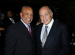 WEST HOLLYWOOD, CA. - February 08: Berry Gordy, Founder of Motown Records and Doug Morris, Chairman and CEO of Universal Music Group attend the Universal Music Group Chairman Doug Morris' Grammy Awards Viewing Dinner at The Palm on February 8, 2009 in West Hollywood, California.