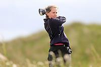 Emma Thorne (Elm Park) during the 2nd round of the Irish Women's Open Stroke Play Championship, Enniscrone Golf Club, Enniscrone, Co. Sligo. Ireland. 16/06/2018.<br /> Picture: Golffile | Fran Caffrey<br /> <br /> <br /> All photo usage must carry mandatory  copyright credit (© Golffile | Fran Caffrey)