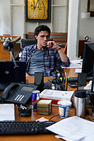 The Big Short (2015)<br /> Finn Wittrock <br /> *Filmstill - Editorial Use Only*<br /> CAP/KFS<br /> Image supplied by Capital Pictures