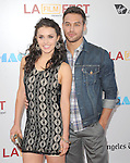 Kathryn McCormick and Ryan Guzman at The Warner Bros. Pictures World Premiere and Closing night of The Los Angeles Film Festival  held at   The Regal Cinemas L.A. LIVE Stadium 14 in Los Angeles, California on June 24,2012                                                                               © 2012 Hollywood Press Agency