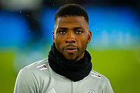 4th March 2020; King Power Stadium, Leicester, Midlands, England; English FA Cup Football, Leicester City versus Birmingham City; Kelechi Iheanacho of Leicester City during the pre-match warm-up
