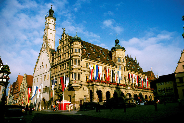 Germany: Rottenburg, City Hall.  Photo: grroma103.Photo copyright Lee Foster, 510/549-2202, lee@fostertravel.com, www.fostertravel.com