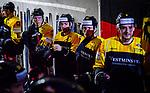 Team Deutschland vor dem Spiel beim Spiel Deutschland (dunkel) -  Schweiz (hell).<br /> <br /> Foto &copy; PIX-Sportfotos *** Foto ist honorarpflichtig! *** Auf Anfrage in hoeherer Qualitaet/Aufloesung. Belegexemplar erbeten. Veroeffentlichung ausschliesslich fuer journalistisch-publizistische Zwecke. For editorial use only.