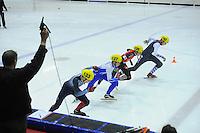 SHORTTRACK: HEERENVEEN: IJsstadion Thialf, 30-01-2015, StarClass 5 (NC-2) Europa Cup, Jeugdwedstrijd (t/m 16 jaar), ©foto Martin de Jong