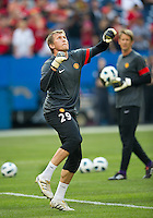 July 16, 2010 Tomasz Kuszczak No. 29  of Manchester United  an international friendly between Manchester United and Celtic FC at the Rogers Centre in Toronto.