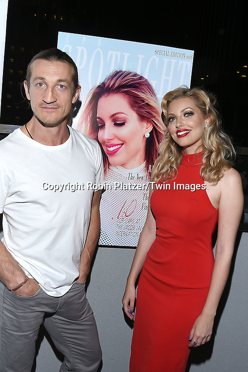 Dalal/ Dalal Bruchmann. Recording Artist,Composer and Actress attends the &quot;EPN Spotlight Magazine&quot;  launch party on June 10, 2016 at the Renaissance NY Hotel in New York, New York, USA. Dalal Bruchmann is the cover model.<br /> <br /> photo by Robin Platzer/Twin Images<br />  <br /> phone number 212-935-0770