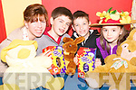 Easter party: Natalie and Ben Thornton, Thomas Flaherty and Katie Thornton, Athea who are all set for the Con Colbert Hall Easter Party on Monday, April 13th.
