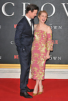 Matt Smith and Claire Foy at the &quot;The Crown&quot; TV premiere, Odeon Leicester Square cinema, Leicester Square, London, England, UK, on Tuesday 01 November 2016. <br /> CAP/CAN<br /> &copy;CAN/Capital Pictures /MediaPunch ***NORTH AND SOUTH AMERICAS ONLY***