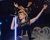 SUNRISE, FL - DECEMBER 21: Kiesza performs during the Y100's Jingle Ball 2014 at BB&T Center on December 21, 2014 in Miami, Florida. Credit Larry Marano (C) 2014