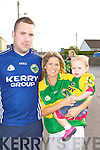 Michelle O'Shea, Cliona Walsh, Craig Walsh Rathmore welcome home their heroes at Rathmore train station on Monday