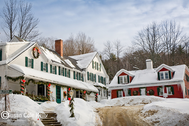 Christmas Farm Inn in Jackson, White Mountains region, NH, USA