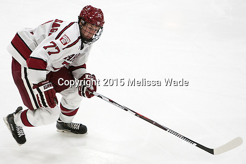 Lewis Zerter-Gossage (Harvard - 77) - The Harvard University Crimson defeated the Dartmouth College Big Green 5-2 to sweep their weekend series on Sunday, November 1, 2015, at Bright-Landry Hockey Center in Boston, Massachusetts. -
