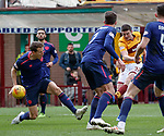 17.02.2019: Motherwell v Hearts: Jake Hastie scores