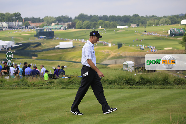 Jim Furyk (USA) walks to the 4th tee during Friday's Round 1 of the 2016 U.S. Open Championship held at Oakmont Country Club, Oakmont, Pittsburgh, Pennsylvania, United States of America. 17th June 2016.<br /> Picture: Eoin Clarke | Golffile<br /> <br /> <br /> All photos usage must carry mandatory copyright credit (&copy; Golffile | Eoin Clarke)