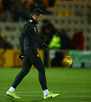 4th March 2020; Almondvale Stadium, Livingston, West Lothian, Scotland; Scottish Premiership Football, Livingston versus Celtic; Tom Rogic of Celtic keeps the ball up during the warm up