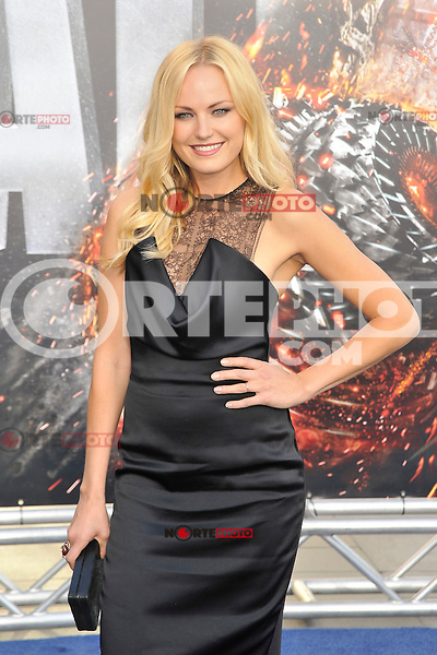 Malin Akerman at the film premiere of 'Battleship,' at the NOKIA Theatre at L.A. LIVE in Los Angeles, California. May, 10, 2012. ©mpi35/MediaPunch Inc.