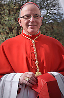 Cardinal Jose Macario do Nascimento Clemente  Portugal .Pope Francis,during a consistory for the creation of new Cardinals at St. Peter's Basilica in Vatican.February 14, 2015