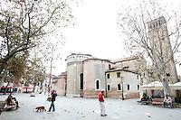 Una veduta di Campo San Giacomo dall'Orio a Venezia.<br /> A view of Campo San Giacomo dall'Orio in Venice.<br /> UPDATE IMAGES PRESS/Riccardo De Luca