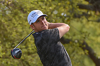 Luke List (USA) watches his tee shot on 12 during day 1 of the WGC Dell Match Play, at the Austin Country Club, Austin, Texas, USA. 3/27/2019.<br /> Picture: Golffile | Ken Murray<br /> <br /> <br /> All photo usage must carry mandatory copyright credit (© Golffile | Ken Murray)