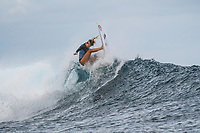 /NAMOTU, Fiji (Tuesday, May 30, 2017) Bethany Hamilton (HAW) - The Outerknown Fiji Women&rsquo;s Pro, Stop No. 5 on the 2017 World Surf League (WSL) Championship Tour (CT), got underway today with Round 1 starting at 8:05 a.m. local time at Cloudbreak in building three-to-four foot surf.<br /> <br /> The conditions had definitely improved at Cloudbreak overnight and organisers pressed right through the day to complete Rounds 1,2 and 3. Conditions varied because of the winds and the tide with long lulls around the afternoon low tide. Completion wrapped up at 5pm local time.<br />  Photo: joliphotos.com