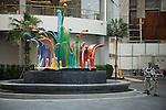 Thailand, Bangkok, Monuments, Public Art, Sculpture, Graffiti