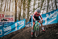 KAPTHEIJNS Maud (NED/Roompot-Charles)<br /> <br /> Brussels Universities Cyclocross (BEL) 2019<br /> Women's Race<br /> DVV Trofee<br /> &copy;kramon