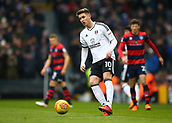 17th March 2018, Craven Cottage, London, England; EFL Championship football, Fulham versus Queens Park Rangers; Tom Cairney of Fulham passing the ball