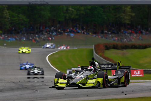 2017 Verizon IndyCar Series<br /> Honda Indy Grand Prix of Alabama<br /> Barber Motorsports Park, Birmingham, AL USA<br /> Sunday 23 April 2017<br /> Charlie Kimball, Chip Ganassi Racing Teams Honda<br /> World Copyright: Phillip Abbott<br /> LAT Images<br /> ref: Digital Image abbott_barber_0417_7113