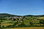 View from the race route during Stage 15 of the 104th edition of the Tour de France 2017, running 189.5km from Laissac-Severac l'Eglise to Le Puy-en-Velay, France. 16th July 2017.<br /> Picture: ASO/Pauline Ballet   Cyclefile<br /> <br /> <br /> All photos usage must carry mandatory copyright credit (&copy; Cyclefile   ASO/Pauline Ballet)