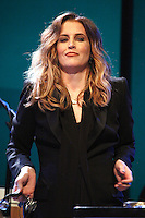 Lisa Marie Presley performing on the first night of her Storm And Grace Tour at World Cafe Live in Philadelphia, Pa on June 11, 2012 &copy; Star Shooter / MediaPunchInc NORTEPHOTO.COM<br />