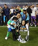 Real Madrid's Keylor Navas celebrates with the trophy during the Champions League Final match at the Principality Stadium, Cardiff. Picture date: June 3rd, 2017. Pic credit should read: David Klein/Sportimage