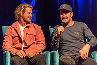"Coolangatta, Queensland (Thursday, August 2 2018): The Gold Coast Premier of the Andy Irons: Kissed by God  movie was held last night at Twin Towns Resort with over a 1000 people in attendance including Joel Parkinson, Occy, Mick Fanning and Lyndie Irons. Kissed by God is a film about bipolar disorder and opioid addiction as seen through the life of three-time world champion surfer Andy Irons. Andy struggled with the same demons that millions of people worldwide battle with daily. Andy was an incredible presence on the world stage as the ""People's Champion."" He was the pride of Hawaii and revered around the world for his blue-collar rise to fame and success. However, many were unaware of the internal battles that led to his demise. As the opioid crisis rises to a national emergency in the United States and around the world, the untold story of Andy's life serves to tear down the myths associated with these two ferocious diseases.<br /> <br /> This film is produced by Teton Gravity Research and is brought to Australia in partnership with Surfing World Magazine<br /> Photo: joliphotos.com"