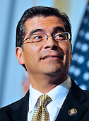 United States Representative Xavier Becerra (Democrat of California) attends the meeting where U.S. House Democrats selected their leadership for the 112th Congress in Washington, D.C. on Wednesday, November 17, 2010.  Becerra will serve as Chairman of the U.S. House Democratic Caucus in the new Congress..Credit: Ron Sachs / CNP