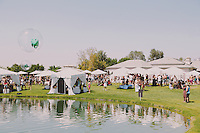 COACHELLA: Lacoste Desert Pool Party