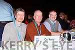 Leslie Begley Killorglin VTOS, Noel Keenan Tarbert and John Skinner Ardfert at the TUI conference in the INEC on Wednesday