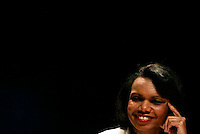 US Secretary of States, Condolisa Rice during press conference Meeting of the Quartet of Middie East Peace Mediators at Centro Cultural Belém in Lisbon 20 July 2007.