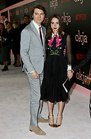 www.acepixs.com<br /> <br /> June 8 2017, New York City<br /> <br /> Zoe Kazan (R) and Paul Dano arriving at the premiere of 'Okja' hosted by Netflix at the AMC Lincoln Square Theater on June 8, 2017 in New York City.<br /> <br /> By Line: Nancy Rivera/ACE Pictures<br /> <br /> <br /> ACE Pictures Inc<br /> Tel: 6467670430<br /> Email: info@acepixs.com<br /> www.acepixs.com