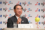Hiromi Tokuda, <br /> AUGUST 3, 2016 - Softball &amp; Baseball :<br /> Baseball Federation of Japan, Japan Softball Association and Nippon Professional Baseball Organization holds a press conference<br /> after it was decided that the sport of <br /> Softball &amp; Baseball would be added to the Tokyo 2020 Summer Olympic Games<br /> on August 3rd, 2016 in Tokyo, Japan.<br /> (Photo by AFLO SPORT)