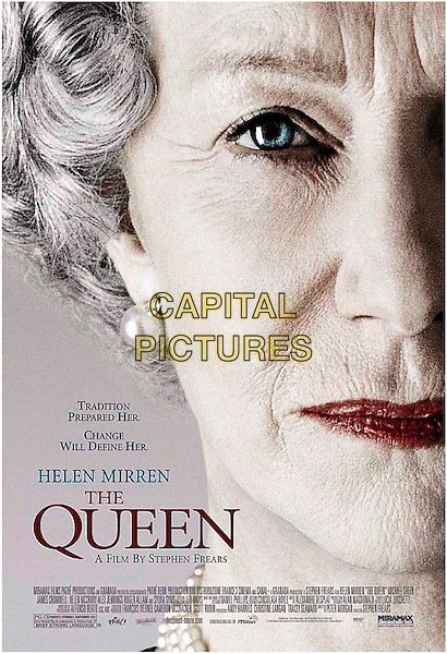 POSTER ART.on the set of The Queen .**Editorial Use Only**.CAP/FB.Supplied by Capital Pictures