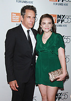NEW YORK, NY October 01, 2017 Ben Stiller, Ella Olivia Stiller attend 55th New York Film Festival premiere of The Meyerowitz Stories at Alice Tully Hall Lincoln Center in New York October 01,  2017.<br /> CAP/MPI/RW<br /> &copy;RW/MPI/Capital Pictures