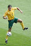 26 June 2006: Lucas Neill (AUS). Italy (1st place in Group E) defeated Australia (2nd place in Group F) 1-0 at Fritz-Walter Stadion in Kaiserslautern, Germany in match 53, a Round of 16 game, in the 2006 FIFA World Cup.