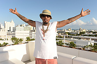 MIAMI BEACH, FL - OCTOBER 05: Ball Greezy poses for a portrait during the Empire Records DJ party held at Skydeck on October 5, 2018 in Miami Beach, Florida. <br /> CAP/MPI04<br /> &copy;MPI04/Capital Pictures