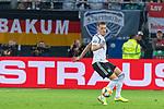 06.09.2019, Volksparkstadion, HAMBURG, GER, EMQ, Deutschland (GER) vs Niederlande (NED)<br /> <br /> DFB REGULATIONS PROHIBIT ANY USE OF PHOTOGRAPHS AS IMAGE SEQUENCES AND/OR QUASI-VIDEO.<br /> <br /> im Bild / picture shows<br /> <br /> Matthias Ginter (Deutschland / GER #04)<br /> <br /> während EM Qualifikations-Spiel Deutschland gegen Niederlande  in Hamburg am 07.09.2019, <br /> <br /> Foto © nordphoto / Kokenge