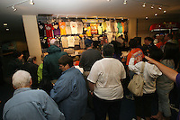 6 April 2008: Merchandise store during Stanford's 82-73 win against the Connecticut Huskies in the 2008 NCAA Division I Women's Basketball Final Four semifinal game at the St. Pete Times Forum Arena in Tampa Bay, FL.