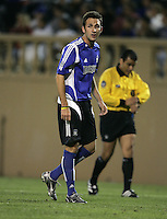 2 April 2005:  Ryan Cochrane of Earthquakes against Revolution at Spartan Stadium in San Jose, California.   Earthquakes and Revolutions tied at 2-2.  Credit: Michael Pimentel / ISI