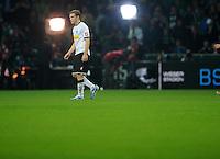 FUSSBALL   1. BUNDESLIGA    SAISON 2012/2013    8. Spieltag   SV Werder Bremen - Borussia Moenchengladbach  20.10.2012 Tony Jantschke (Borussia Moenchengladbach) ist nach dem Abpfiff enttaeuscht